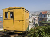 Funicular, Valparaiso, Chile, South America Photographic Print by Michael Snell