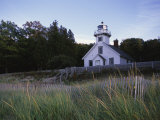 Old Mission Lighthouse, Michigan, USA Photographic Print by Michael Snell