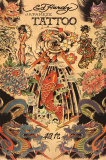 Japanese Tattoo Prints by Ed Hardy