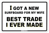 Best Trade Tin Sign