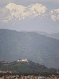 The Buddhist Temple of Swayambhu, Overlooking Kathmandu, Rising to Over 6000M Photographic Print by Don Smith