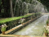 Fountains in Maria Luisa Park, Seville, Andalucia, Spain Photographic Print by Nedra Westwater