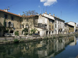 Canal at Porta Ticinese, Naviglio Grande, Milan, Lombardy, Italy Photographic Print by Sheila Terry