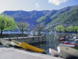 Torno, Lago Di Como (Lake Como), Lombardia (Lombardy), Italy Photographic Print by Sheila Terry