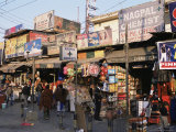 Shops and Stalls, Delhi, India Photographic Print by John Henry Claude Wilson