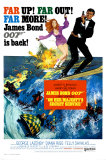On Her Majesty's Secret Service Print