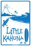 Little Kahuna Plaque en métal