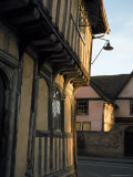 Tudor Shops and Priory Farm, Lavenham, Suffolk, England, United Kingdom Photographic Print by Nedra Westwater