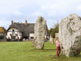 Standing Stones, Avebury, Unesco World Heritage Site, Wiltshire, England, United Kingdom Photographic Print by Sheila Terry