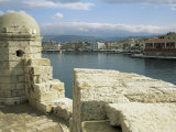 View from the Lighthouse of Chania, Crete, Greece Photographic Print by Sheila Terry