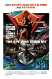 The Spy Who Loved Me Posters