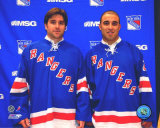 Chris Drury and Scott Gomez Photo