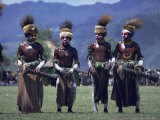 Mount Hagen Boys, Papua New Guinea Photographic Print by Maureen Taylor