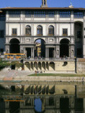 The Uffizi Reflected in the Arno River, Florence, Tuscany, Italy Photographic Print by Nedra Westwater