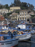 Fishing Village of Santa Maria La Scala, Sicily, Italy, Mediterranean Photographic Print by Sheila Terry