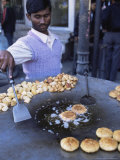 Street Food, Delhi, India Photographic Print by John Henry Claude Wilson