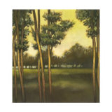 Through the Trees II Collectable Print by  Larson