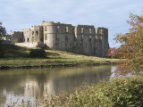 Carew Castle, Built in the 12th Century and Abandoned in 1690, Pembrokeshire, Wales Photographic Print by Sheila Terry