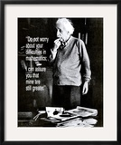 Einstein: Do Not Worry Prints
