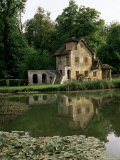 Make-Believe Mill in Marie Antoinette's Hameau, Petit Trianon, Versailles, Ile De France Photographic Print by Nedra Westwater