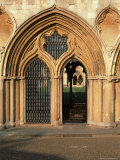 Norwich Cathedral Cloisters, Dating from 13th to 15th Centuries, Norwich, Norfolk, England Photographic Print by Nedra Westwater