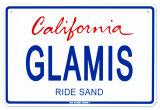Glamis Tin Sign