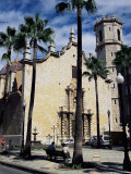 Cathedral, Benicarlo, Valencia, Spain Photographic Print by Sheila Terry