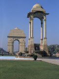 India Gate, New Delhi, Delhi, India Photographic Print by John Henry Claude Wilson