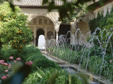The Canal Court of the Generalife Gardens in May, Granada, Andalucia, Spain Photographic Print by Nedra Westwater