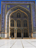 Entrance to the Friday Mosque (Masjet-Ejam), Herat, Afghanistan Photographic Print by Jane Sweeney
