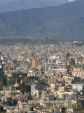 Urban Sprawl in Western Valley, Kathmandu, Nepal Photographic Print by Tony Waltham