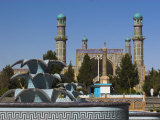 New Fountain in Front of the Friday Mosque, Herat, Afghanistan Photographic Print by Jane Sweeney