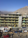 View from Spinzar Hotel, City Centre, Kabul, Afghanistan Photographic Print by Jane Sweeney