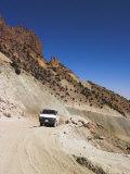 Minibus on Subzak Pass, Between Herat and Maimana, Afghanistan Photographic Print by Jane Sweeney