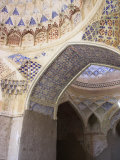 Mosque Interior at the Ruins of Takht-I-Pul, Balkh, Afghanistan Photographic Print by Jane Sweeney