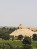 Remains of Buddhist Monastery, Balkh (Mother of Cities), Balkh Province, Afghanistan Photographic Print by Jane Sweeney