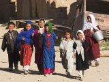 Local Children, Yakawlang, Afghanistan Photographic Print by Jane Sweeney