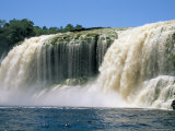 El Sapito Waterfall, Canaima National Park, Unesco World Heritage Site, Venezuela, South America Photographic Print by Jane Sweeney