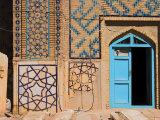 Sufi Shrine of Gazargah, Herat, Herat Province, Afghanistan Photographic Print by Jane Sweeney