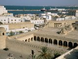 View from Ribat of the Medina, Sousse, Unesco World Heritage Site, Tunisia, North Africa, Africa Photographic Print by Jane Sweeney