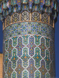 Detail of the Minaret of the Friday Mosque (Masjet-E Jam), Herat, Afghanistan Photographic Print by Jane Sweeney