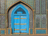 Shrine of Hazrat Ali, Who was Assassinated in 661, Mazar-I-Sharif, Balkh Province, Afghanistan Photographic Print by Jane Sweeney
