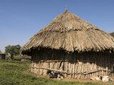 Oromo Village Near Langano Lake, Rift Valley, Ethiopia, Africa Photographic Print by Jane Sweeney