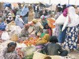 Weekly Market in Bati, the Largest Outside Addis Ababa, Northern Highlands, Ethiopia, Africa Photographic Print by Tony Waltham