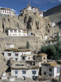 Lamayuru Monastery and Village, Ladakh, India Photographic Print by Tony Waltham