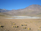 Altiplano and High-Level Volcanoes, Between Caspana and El Tatio, Atacama Desert, Chile Photographic Print by Tony Waltham