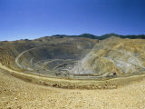 Open Pit Mine, Pit is 3800M Across and 720M Deep, Utah Photographic Print by Tony Waltham
