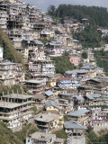 Shimla (Simla), Town Grown from Raj Hill Station, Himachal Pradesh, India Photographic Print by Tony Waltham