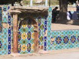 Tomb in the Park Outside the Shrine of Hazrat Ali, Mazar-I-Sharif, Balkh Province, Afghanistan Photographic Print by Jane Sweeney