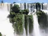 Iguassu Falls, Iguazu National Park, Unesco World Heritage Site, Argentina, South America Photographic Print by Jane Sweeney
